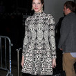 Stephanie Seymour Clothes - Print Dress