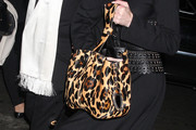 Stephanie Seymour Printed Tote