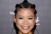 Storm Reid Long Hairstyles