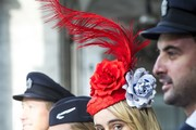 Suki Waterhouse Dress Hats