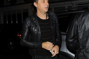 Jamie Hince Leather Jacket