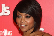 Taraji P. Henson Short Side Part
