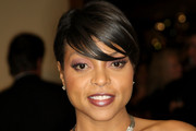 Taraji P. Henson Short cut with bangs
