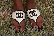 Tichina Arnold Thong Sandals