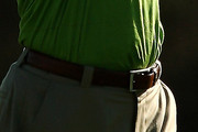 Tiger Woods Leather Belt