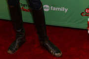 Troian Bellisario Knee High Boots