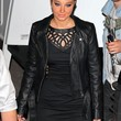 Tulisa Contostavlos Clothes - Motorcycle Jacket