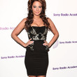 Tulisa Contostavlos Clothes - Strapless Dress