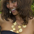 Tyra Banks Jewelry - Gold Charm Necklace