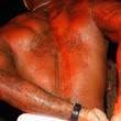 Tyson Beckford Cross Tattoo