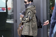 Vanessa Hudgens Zip-up Jacket
