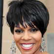 Wendy Raquel Robinson Hair - Short cut with bangs