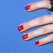 Whitney Cummings Red Nail Polish