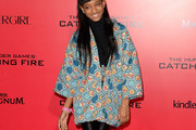 Willow Smith Evening Coat