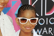 Willow Smith Short Cornrows