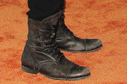 Wilmer Valderrama Lace Up Boots