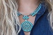Vanessa Hudgens Turquoise Necklace