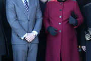 Zara Phillips Wool Coat
