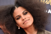 Zazie Beetz Long Hairstyles