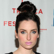 Zoe Lister Jones Hair Knot