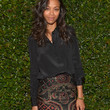 Zoe Saldana Button Down Shirt