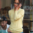 Zoe Saldana V-neck Sweater