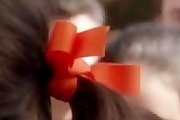 Zooey Deschanel Hair Bow