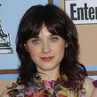 Zooey Deschanel Hair - Medium Wavy Cut with Bangs