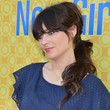 Zooey Deschanel Hair - Ponytail