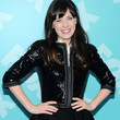 Zooey Deschanel Clothes - Sequined Jacket