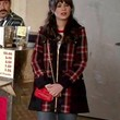 Zooey Deschanel Clothes - Wool Coat