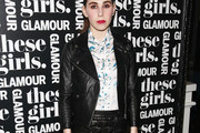 Zosia Mamet Leather Jacket