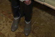 Jordana Brewster Knee High Boots