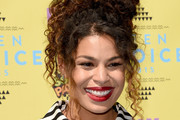 Jordin Sparks Pinned Up Ringlets