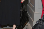 Uma Thurman Quilted Leather Bag