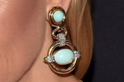 Rachel Zoe Dangling Turquiose Earrings