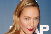 Uma Thurman Long Straight Cut
