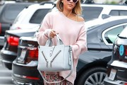 Jessica Alba Boatneck Sweater