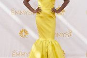 Samira Wiley Mermaid Gown