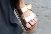 Vanessa Hudgens Slide Sandals