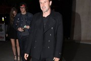 David Arquette Pea Coat