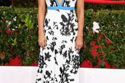 Rashida Jones Beaded Dress
