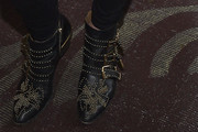 Ashley Greene Studded Boots
