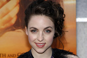Brittany Curran Pinned Up Ringlets
