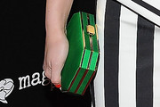 Leighton Meester Satin Clutch
