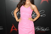 Tammin Sursok Strapless Dress