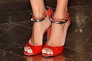 Adriana Lima Peep Toe Pumps