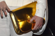 Miley Cyrus Metallic Clutch