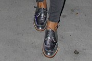 Maria Menounos Flat Oxfords