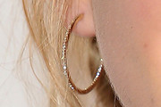 Kiernan Shipka Diamond Hoops